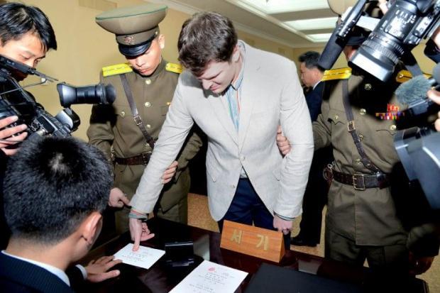 ปมปริศนาหนุ่มอเมริกันสมองตาย เรื่องสุดโหดจากคุกเกาหลีเหนือ