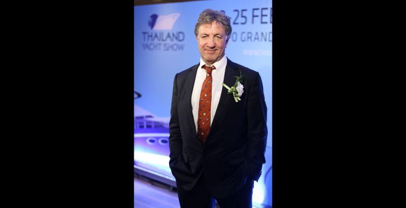 นายแอนดี้ เทรดเวลล์ ผู้ก่อตั้งและประธานกรรมการบริหาร ไทยแลนด์ ยอชท์โชว์