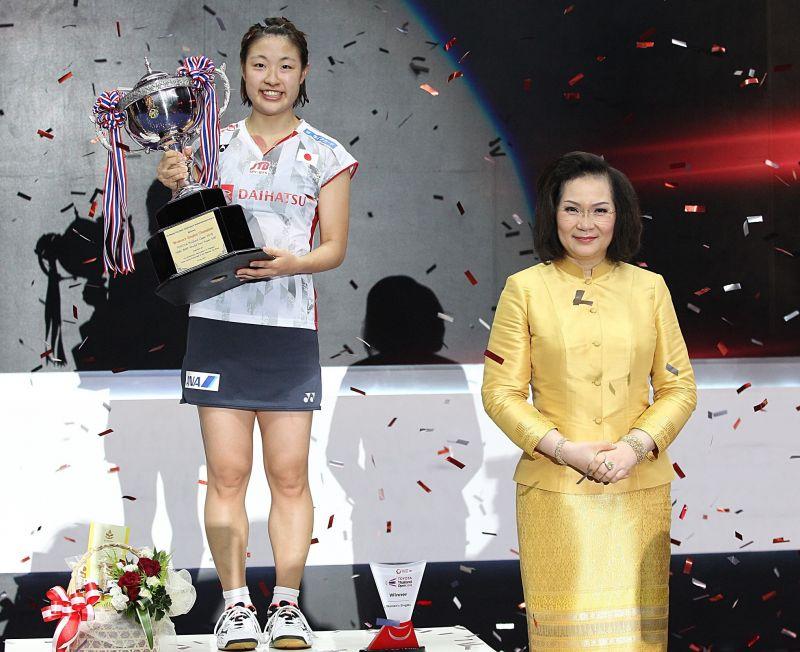 โนโซมิ โอกูฮาระ คว้าแชมป์หญิงเดี่ยวขนไก่ไทยแลนด์โอเพ่น 2018