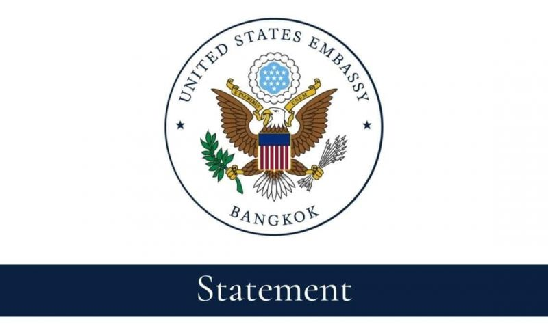 สถานทูตสหรัฐแถลงการณ์ 'ยุบพรรคอนาคตใหม่' อาจลิดรอน 6 ล้านเสียงคนไทย