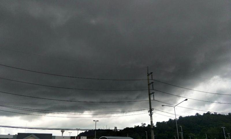 ชายฝั่งอันดามันคาดหมายวันอาทิตย์นี้มีฝนเพิ่มมากขึ้น